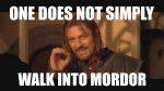 Walk to Mordor Progress