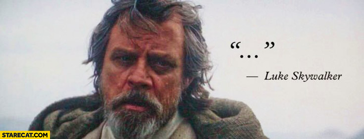 Luke's Best Line In The Whole Movie!!!