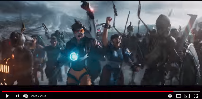 Tracer in Ready Player One Trailer