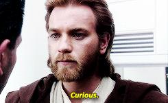 Obi-Wan Curious