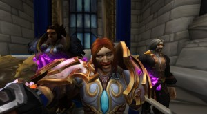 with the King of Stormwind